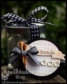 Golf Ball shaped card and gift container... Did this for the golfers in the family and they loved it!