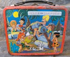 1971 Pebbles and Bamm-Bamm Lunchbox