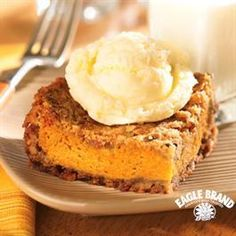 Deep-Dish Pumpkin Pie from Eagle Brand®