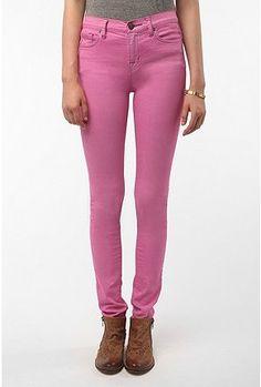 BDG Cigarette High-Rise Jean - Pink
