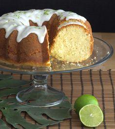 Coconut Bundt Cake with Lime Glaze   Baking Bites   Bloglovin'