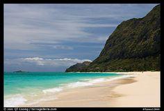 Waimanalo Beach   II   Oahu island, Hawaii,