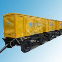 Дизельная электростанция RICARDO 100 кВт на шасси