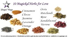 10 herbs for love