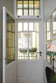Fabulous door with transom