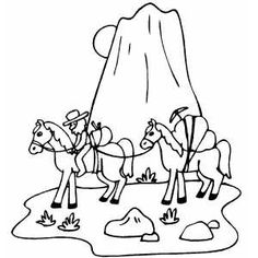 Gold Miner Coloring Pages