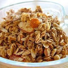 Foto recept: Granola met pinda en honing