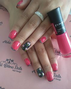 Ateliê Bruna Nails Color Street, Fun Nails, Nail Ideas, Nail Colors, Nail Designs, Design Ideas, Finger Nails, Nail Desings, Nail Design