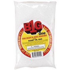 Bean Bag Filler: Plastic Pellets. Package contains 16 ounces of 3mm plastic pellets for bean bags, dolls, stuffed animals and much more. WARNING: Choking Hazard-small parts. Not for children under 3 years.