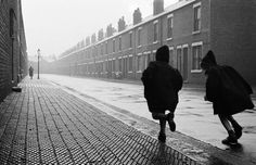 John Bulmer Street scene in The Back Country England 1960 Fine Art Photography, Street Photography, Travel Photography, White Photography, Desert Places, First Photograph, Photojournalism, Light In The Dark, Photo Art