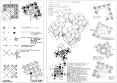 "Project for a competition, ""A Village of Children. - LOVE YOU SO MAT groundscrapers and so on. Architecture Concept Diagram, Study Architecture, Site Analysis, Graduation Project, Social Housing, Modular Design, Design Reference, Competition, Bloom"