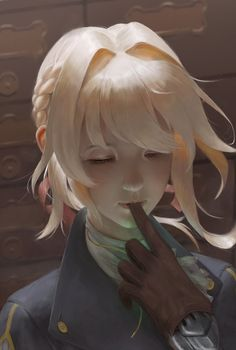 This HD wallpaper is about Violet Evergarden, anime girls, closed eyes, blonde, Original wallpaper dimensions is file size is Manga Anime, Anime Art, Violet Evergreen, Violet Evergarden Anime, Violet Garden, The Ancient Magus Bride, Dibujos Cute, Beautiful Anime Girl, Fantasy Girl