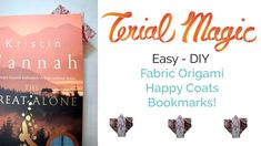 Make adorable fabric Origami Happi Coat bookmarks! Perfect party favors and table decor! Easy tutorial video for teens, tweens and adults.perfect party craft too! Origami Videos, Fabric Origami, Easy Diy, Fun Diy, Origami Tutorial, Craft Party, Crafts For Teens, Fabric Scraps, Bookmarks
