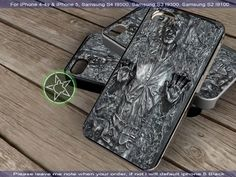 Han Solo Carbonite iPhone 4/4S/5, Samsung S4/S3/S2 case cover | sedoyoseneng - Accessories on ArtFire