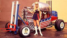 George Barris made the wildest cars.
