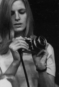 """Photography made me a different person, because it was something I loved doing and just nothing else mattered.""Linda McCartney"