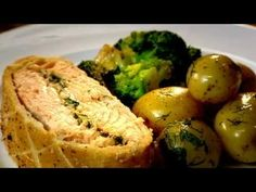 Salmon en Croute - Gordon Ramsay    ( I made this for my husband one night and his eyes rolled up in his head and he let out a sigh - no he didn't die... he loved it that much!!!)
