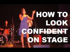 Looking confident on stage is one of the hardest aspects of performing to master. In this post I show you how to break confidence down into 3 easy steps. Singing Lessons For Kids, Singing Tips, Music Lessons, Singing Exercises, Vocal Exercises, How To Look Confident, Singing Techniques, Acoustic Guitar Lessons, Guitar Songs