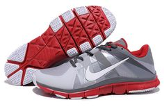 new style 98fb1 1f1e4 Nike Free 5.0 Trainer Grey White Red Red Sneakers, Sneakers Fashion,  Fashion Shoes,