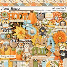 Fall's A Hoot by Jady Day Studio & Digilicious Design