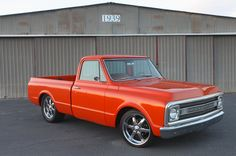 Billy Kenny used every trick in his book to transform this 1970 Chevrolet C10 shortbed into the Tangelo stunner seen here.