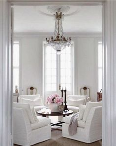 All White Living Room Home Decor And Interior Decorating Ideas