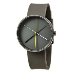 "Amazon.com: Projects Watches (Denis Guidone) - 7292G ""Crossover Gray"" Unisex Watch: Clothing"