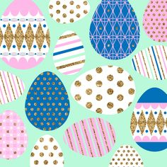 Lab Partners // Easter Easter Wallpaper, Iphone Wallpaper Glitter, Emoji Easter Eggs, Textures Patterns, Print Patterns, Easter Illustration, Easter Egg Pattern, Easter Parade, Easter Colors