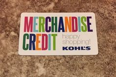 Coupons Giftcards 101 40 Kohl S Gift Card Merchandise Credit Free Shipping Starts 20 Off Coupons Giftcards Gift Card Sale Gift Card Cards