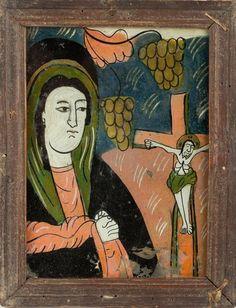 Christian Paintings, Religious Art, Ikon, Matki, Sacred Art, Illustration, Glass, Polish, Detail