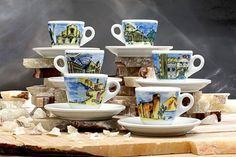 Nuova Point Italiano Espresso Cups Set of 6 at Creative Coffee - Bringing you the world of coffee