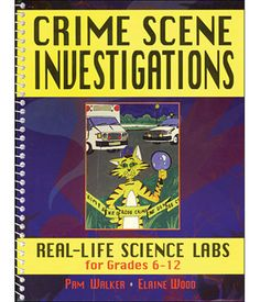 Crime Scene Investigations: Real-Life Science Activities | Forensic Science science experiments, teaching & education tools: Educational Innovations