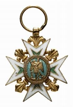 France Medal Order of Saint Michael Miniature in Gold