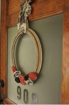 Handmade Thursday's: Fall Wreath Tutorials