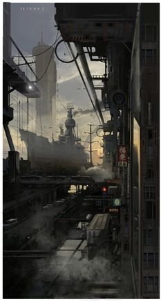 ArtStation - Out of the window, 手指断了 a