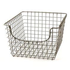 Amazon.com: Spectrum 47970 Medium Storage Basket, Chrome: Home U0026 Kitchen    Favorite Finds...   Pinterest   Storage Baskets, Media Storage And Storage