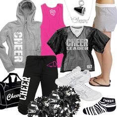 Cheer Fashion, Cheerleading Gear. I actually have that duffle bag in green!!! Got it this cheer season!