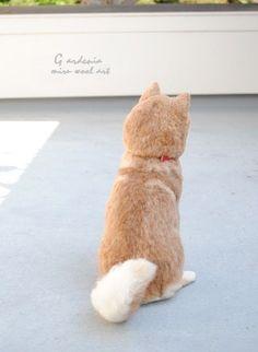 羊毛フェルトで柴犬を作った人のクオリティが凄すぎる・・・
