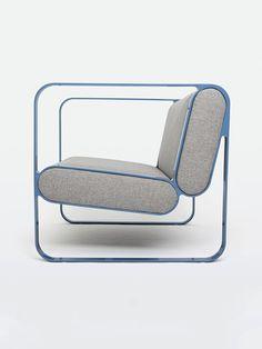 fauteuil cube, Ova Easy, Christian Dorn : Stiltreu.