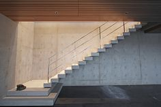 stair in nick milkovich house / vancouver