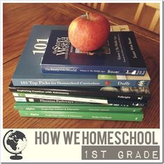 How We Homeschool 1st Grade - Curriculum, Routine, Resources | 4tunate.net