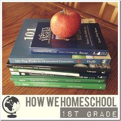 how we homeschool 1st grade