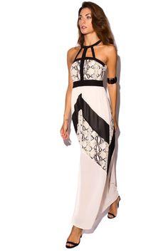 Cut-out Detail Maxi Dress