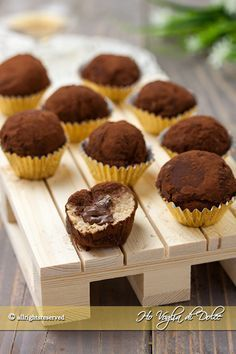 tartufini tiramisù ricetta dolcetti senza cottura