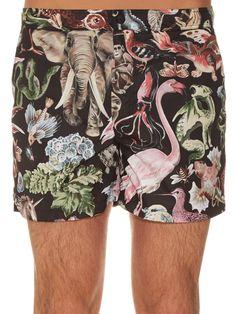 03c45ee61c Fantastic Animals-print swim shorts | Valentino | MATCHESFASHION.COM Jason  Derulo, Kit