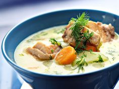 Fish Dishes, Thai Red Curry, Ramen, Favorite Recipes, Cooking, Ethnic Recipes, Greece, Bear, Soups