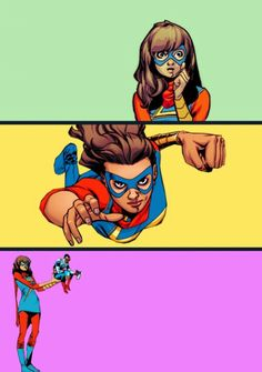 Kamala Khan // Ms. Marvel
