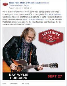 Downtown Bryan Texas Two Texas Bands & Musicians You Gotta See. Grape Festival, Jerry Jeff Walker, Bryan Texas, Texas Music, Waylon Jennings, College Station, Willie Nelson, Cool Bands, Musicians