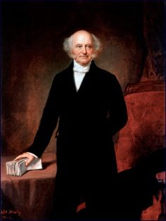 Martin Van Buren was the eighth President of the United States. Before his presidency, he was the eighth Vice President and the tenth Secretary of State, under Andrew Jackson. Presidential Term,  March 4, 1837 – March 4, 1841.