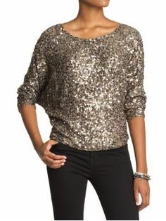 Love this top from Piperlime.  It's a great evening option for a cold climate- fancy but covered!